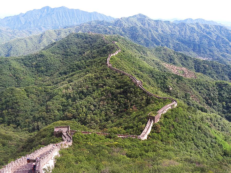 kitajski zid, nasveti za kitajsko