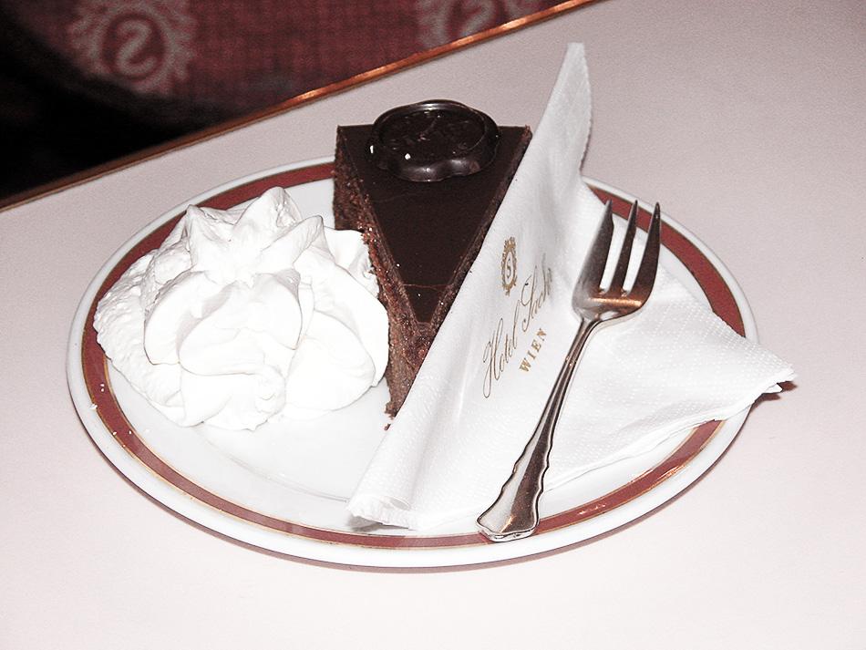 Sacher torta iz Sacher hotela
