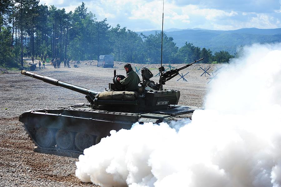 vojaški dan v pivki: revitalizacija bitke
