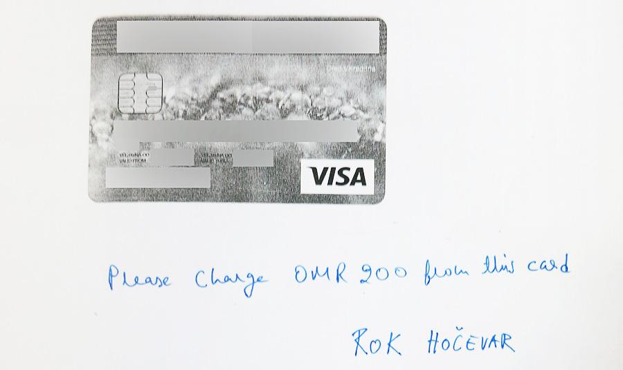 kreditna kartica za plačilo najema avtomobila, nasveti za najem avtomobila