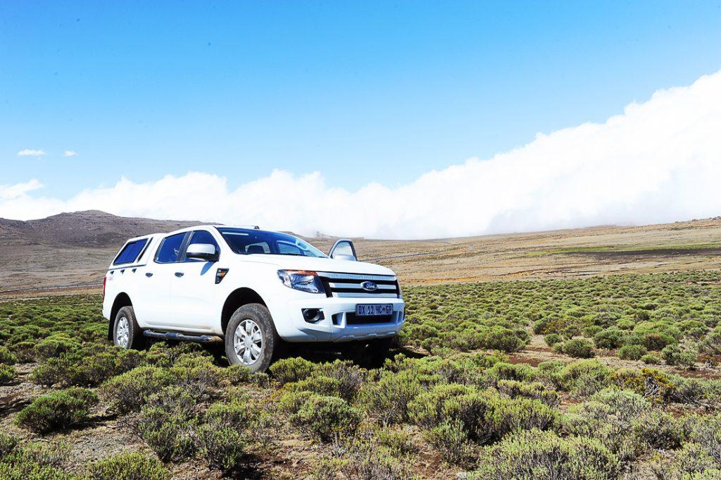 Ford Ranger v Lesotu, Sani Pass, nasveti za najem avtomobila