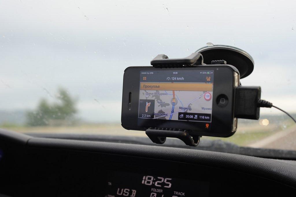 navigacija za vožnjo na iPhone, nasveti za najem avtomobila