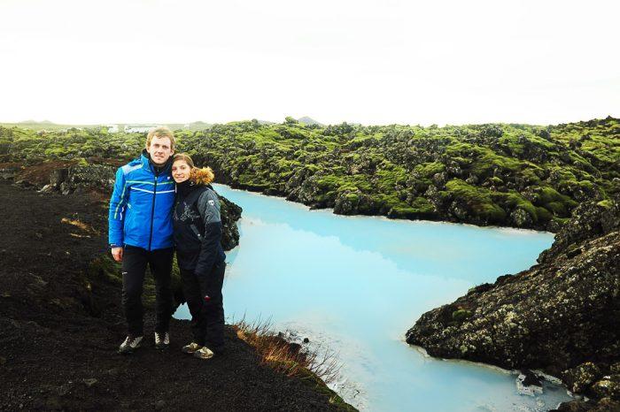 Brezplačna Blue lagoon na islandiji