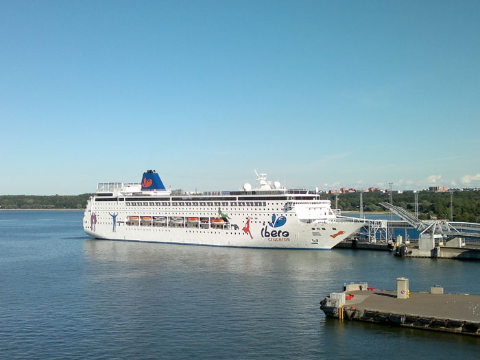 trajekt Talin - Helsinki