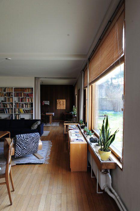 dnevna soba v hiši alvarja aalta, helsinki