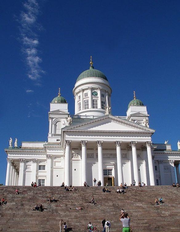 Katedrala v Helsinkih, ikona mesta