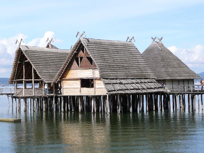 Koliščarsko naselje na Bodenskem jezeru