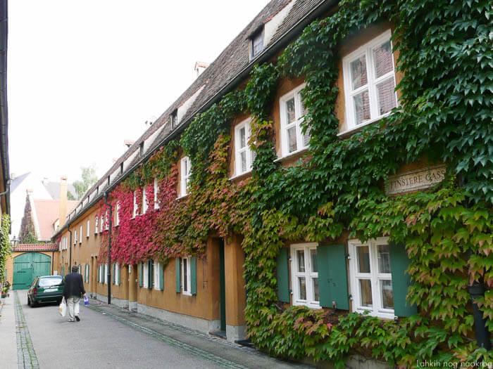 naselje fuggerei v augsburgu