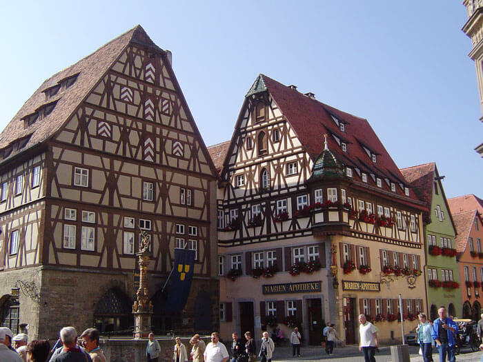 Rothenburg - center srednjeveškega mesta