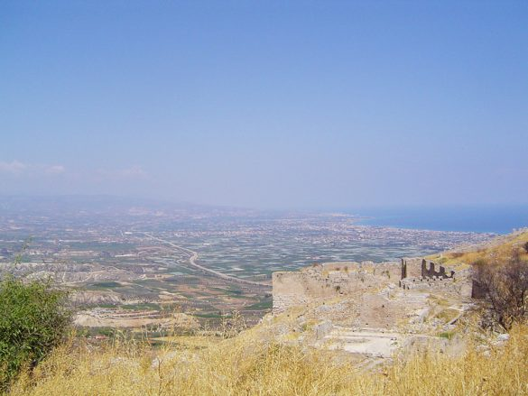 razgled z utrdbe akrokorint