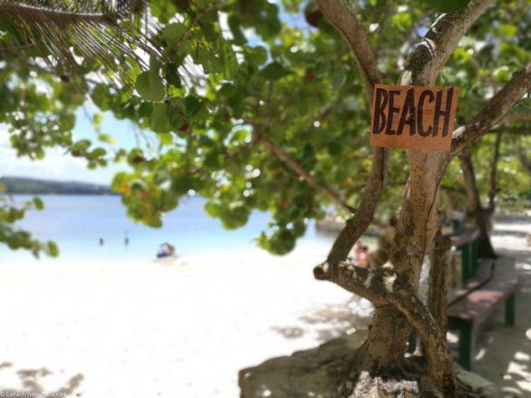 Beach sing jamaica