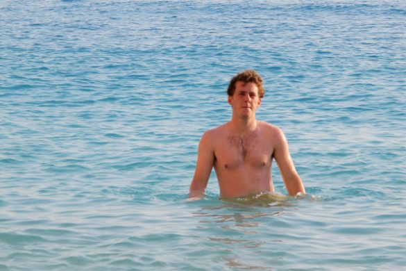 Rok v morju v Grčiji