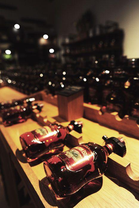 steklenice ruma v prodajalni Appleton Rum