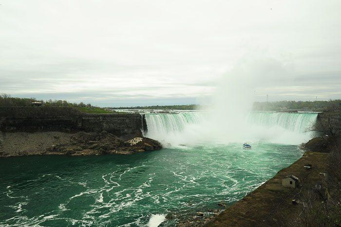 Niagarski slapovi s kanadske strani