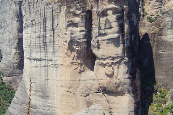 skale, na katerih stojijo samostani Meteora