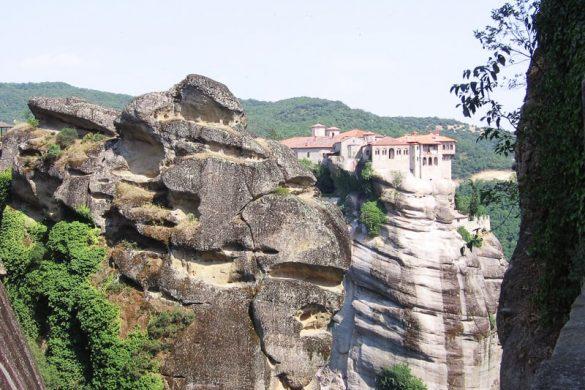 samostan na gori, Meteora