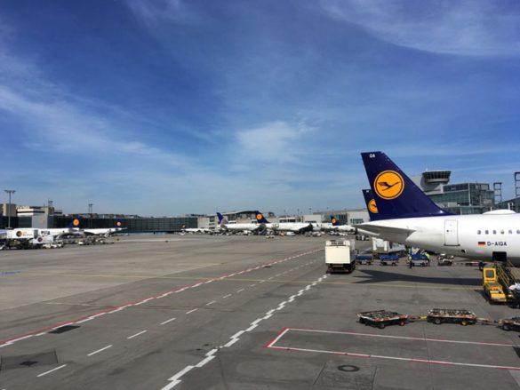 letališče Frankfurt