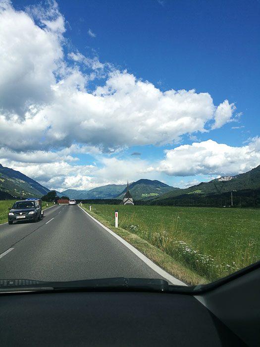 Cesta po avstrijskem podeželju