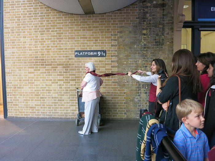 Platform 9 3/4 King's Cross