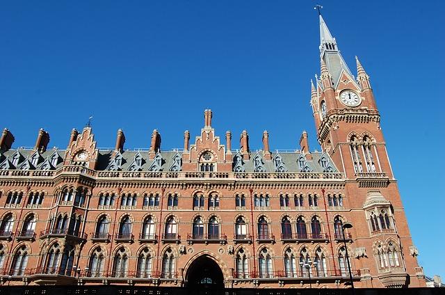 postaja St. Pancras London