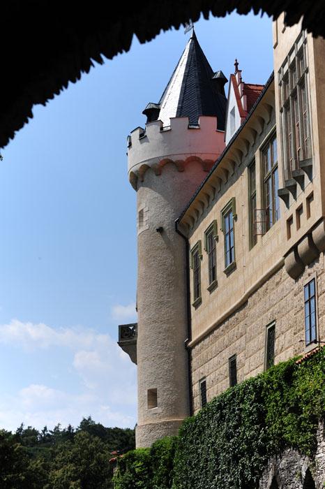 stolp gradu Žleby