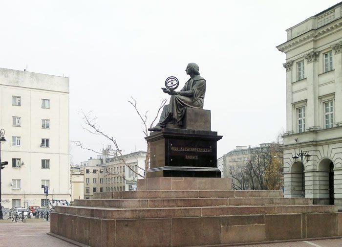 kip Nikolaj Kopernik, varšava