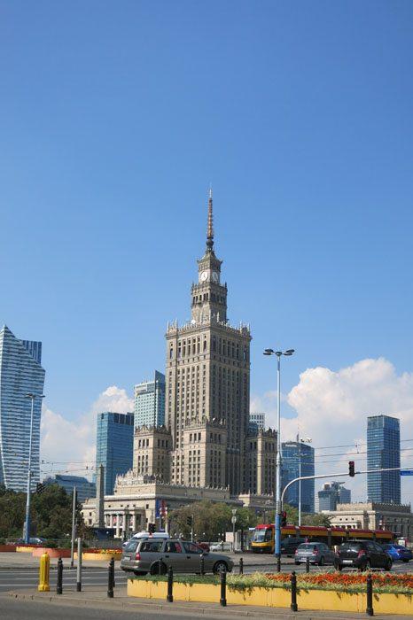 palača kulture in znanosti v varšavi, poljska