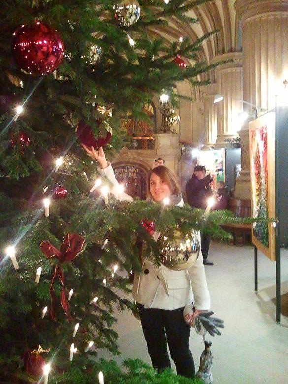 božično drevo Hamburg