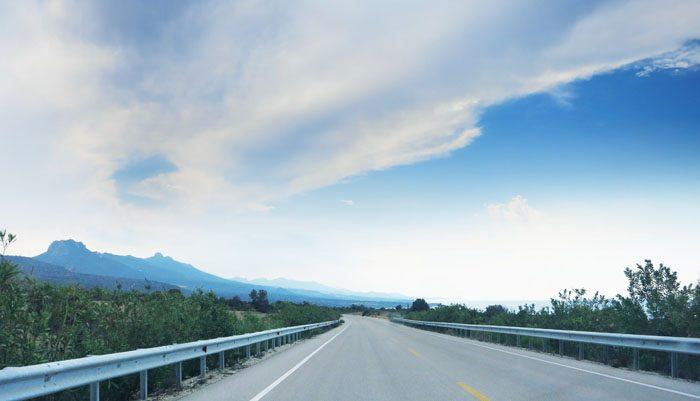 severni ciper cesta proti girne