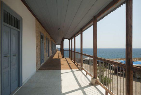 zunanji hodnik samostana Apostola Andreja, Severni Ciper