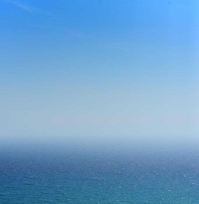modro morje in modro nebo