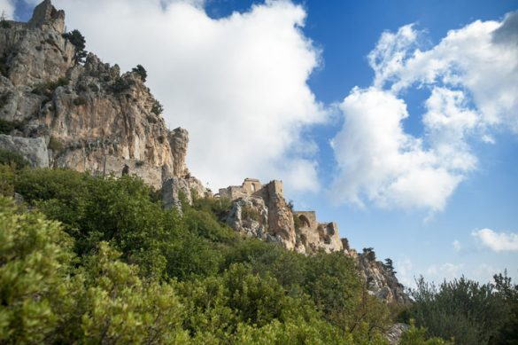 ruševine gradu St. Hilarion Severni Ciper