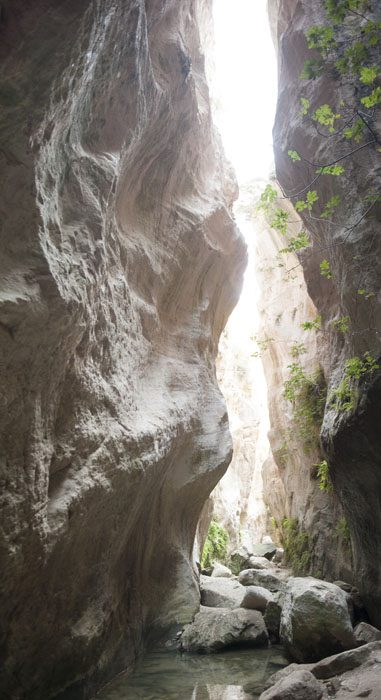 ozka soteska Avakas Gorge