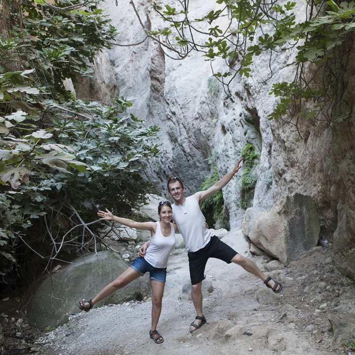 par v soteski Avakas Gorge