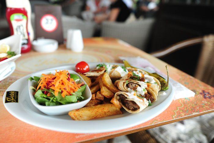 tipična hrana Cipra, kosilo