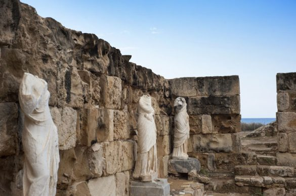 antični kipi, Salamis, Ciper
