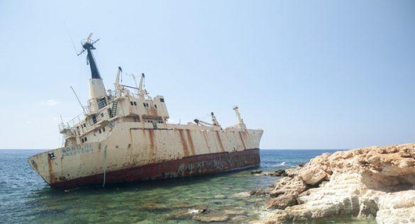 nasedla ladja Edro III
