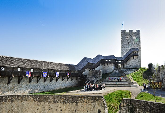 Celjski grad kot del izlet po sloveniji