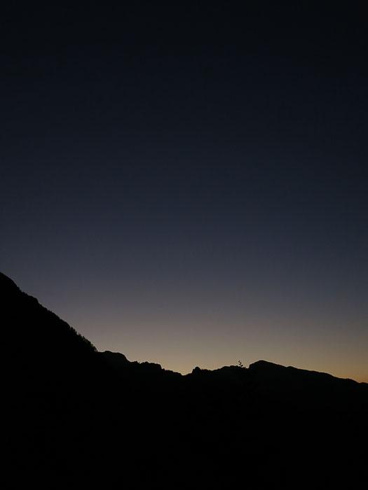jutro v gorah