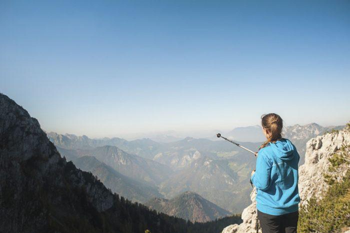 Ženska v gorah