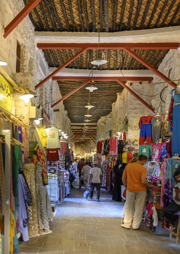 tržnica Souq Waqif v Dohi
