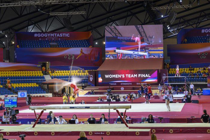 Aspire dome dvorana in svetovno prvenstvo v gimanstiki, Doha 2018