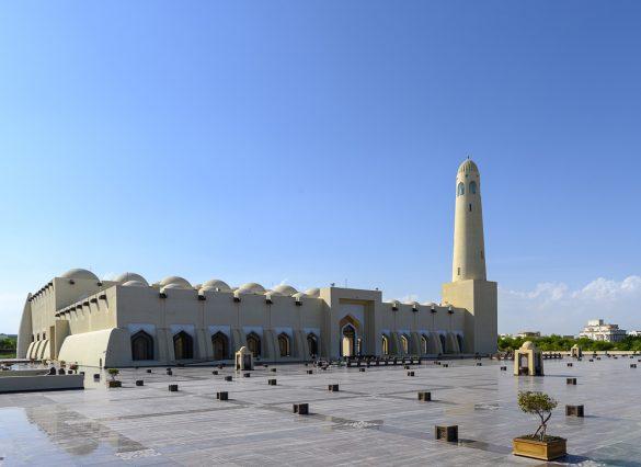 nacionalna mošeja v KAtarju, qatar national mosque