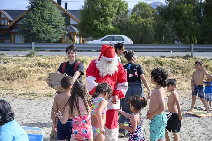 božiček na plaži