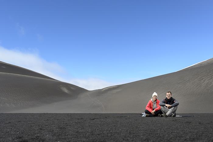 crater NAvidad, Čile