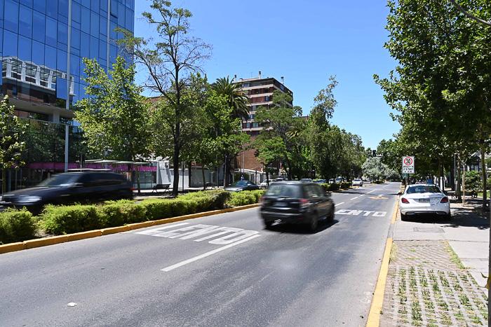 ulica v Santiago de Chile
