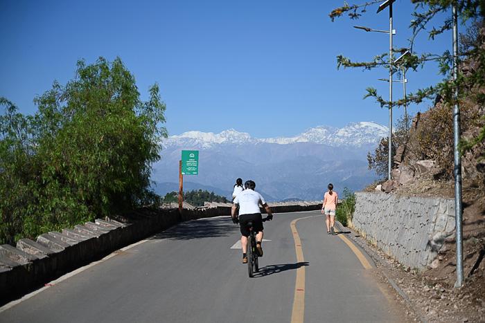 Cesta na Cerro San Cristobal