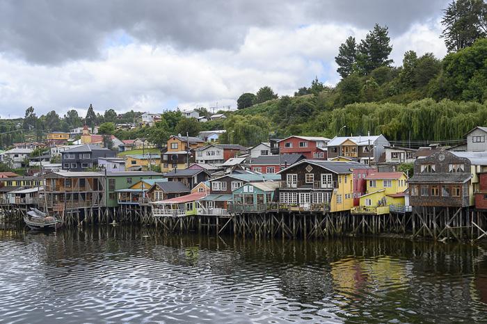 hiše na kolih, otok Chiloe