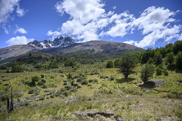 pogled na Cerro Castillo