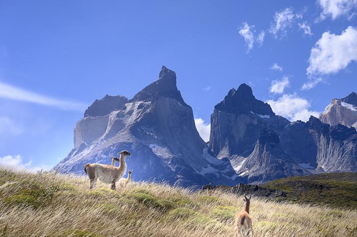 Mirador Cuernos, Torres del Paine, Čile